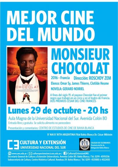 Imagen asociada a la novedad, Mejor Cine del Mundo: Monsieur Chocolat