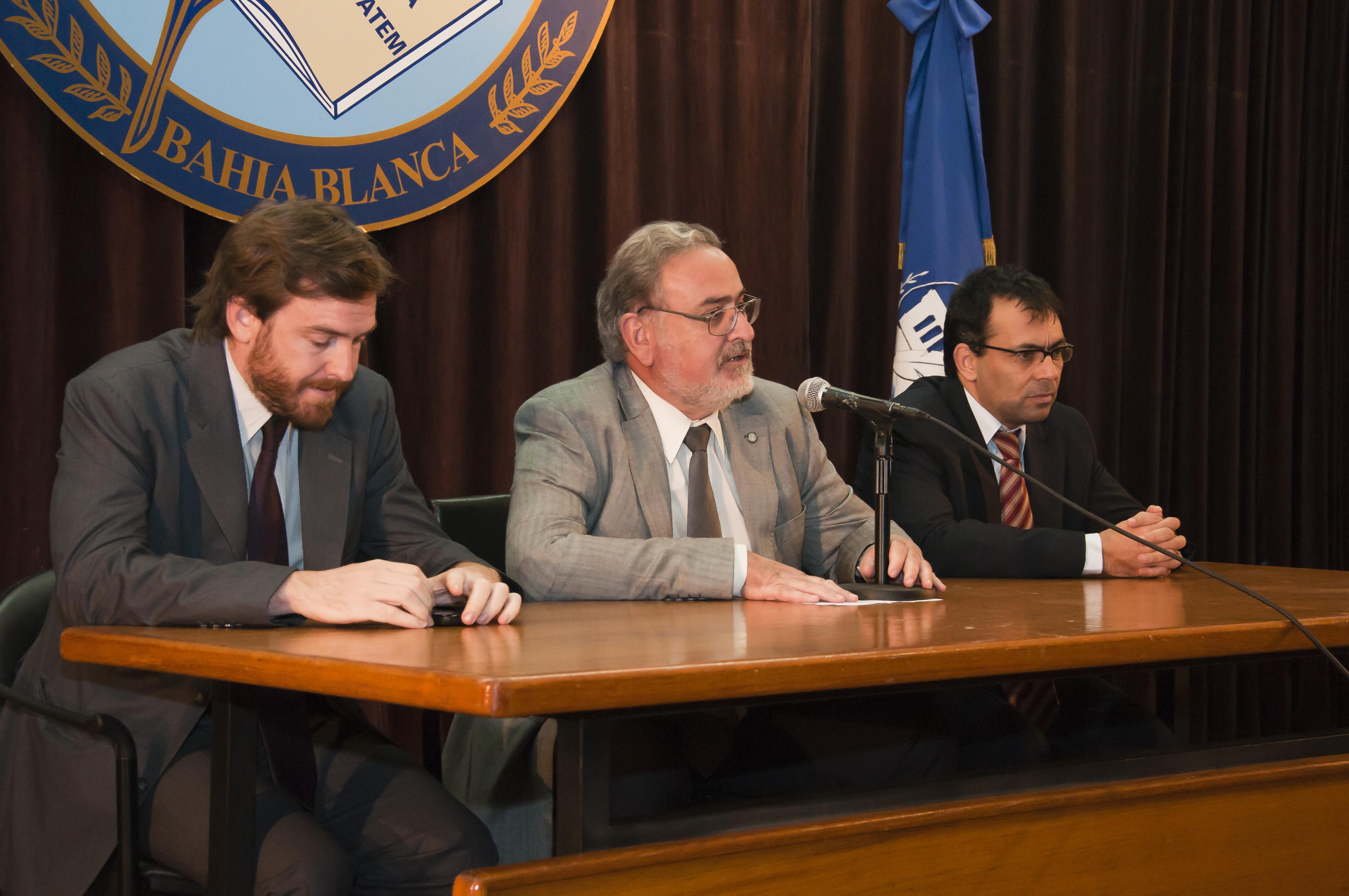Panel con fiscales Nebbia y Palazzani - Complejo Alem