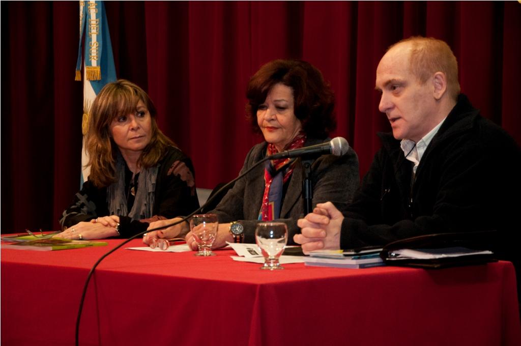 Apertura a cargo de Lic. Bersanelli (CONADIS), Mg. Vaquero (UNS) y Sr. Berrondo (CMPD)