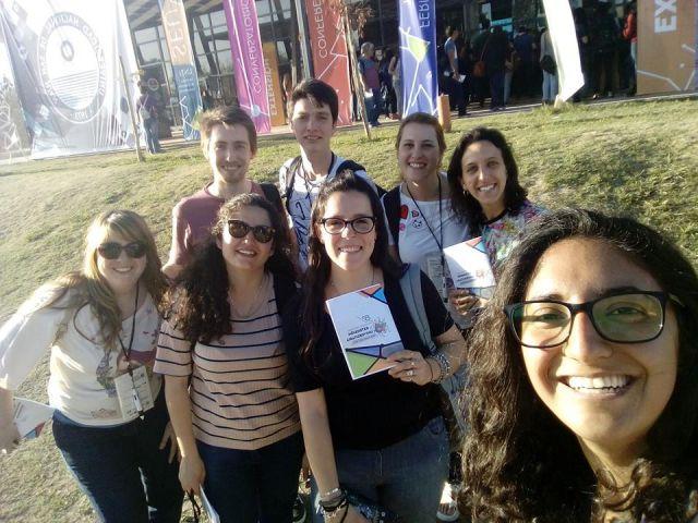 imagen de la noticia: Alumnas del proyecto de la plaza ecológica de Tornquist participaron del Congreso.