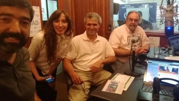 Imagen Noticia: El Rector y el Vice electos estuvieron en Radio UNS