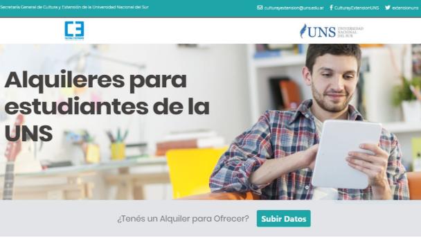 Imagen Noticia: Lanzan plataforma de alquileres para estudiantes