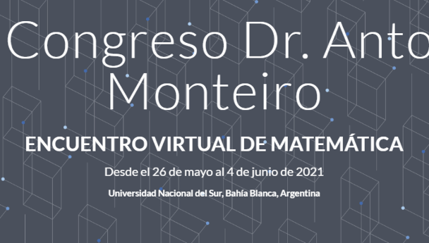 Imagen Noticia: Matemática: nueva edición del Congreso Monteiro, que esta vez será virtual