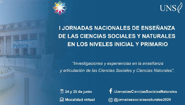 Imagen Noticia: Jornadas Nacionales de Enseñanza de las Ciencias Sociales y Naturales en los Ni
