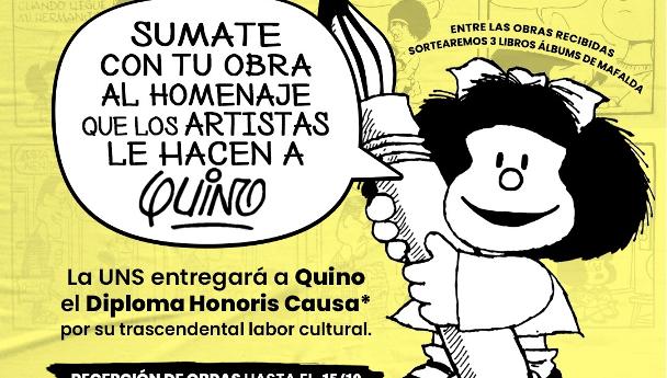 Imagen Noticia: Convocatoria a presentar obras en homenaje a Quino