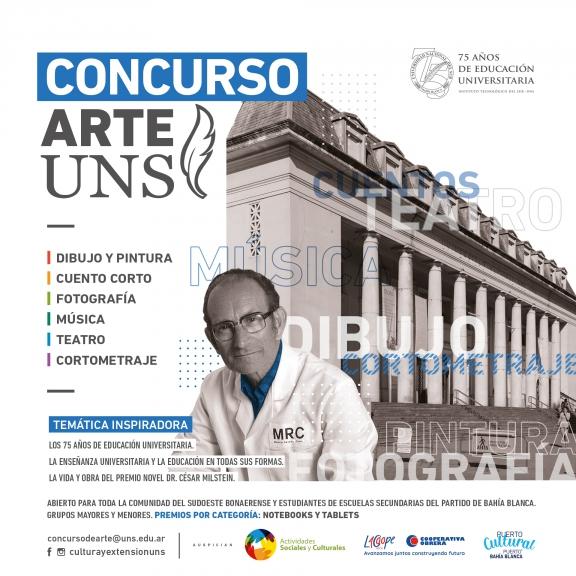 """Imagen asociada a la novedad, """"Concurso de Arte UNS 2021"""""""
