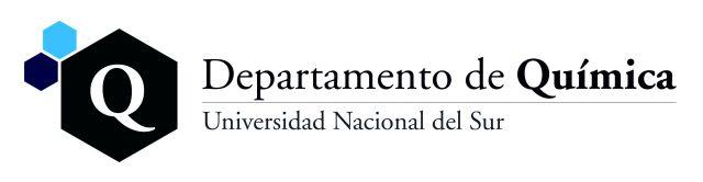 Logo del Departamento de Química
