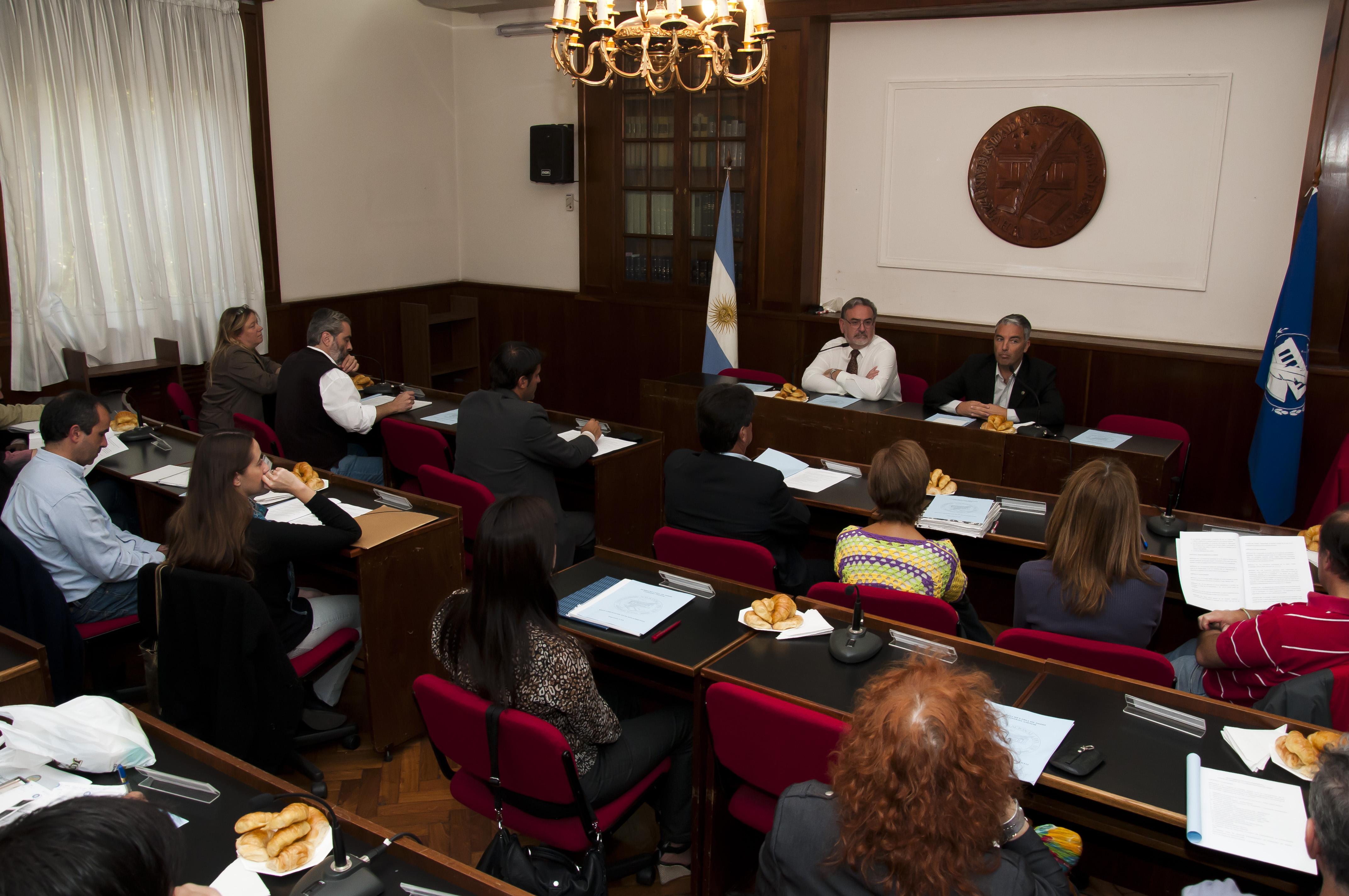 Reunión Constitutiva del CA - Subsecretaría DDHH