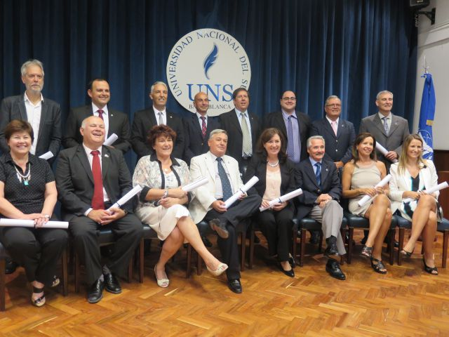 Imagen noticia: Asumieron los Directores decanos de los 16 Departamentos Académicos