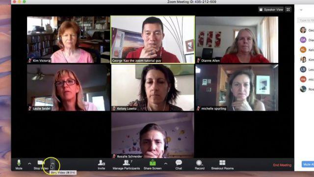 imagen de la noticia: Recomendaciones de seguridad para reuniones virtuales