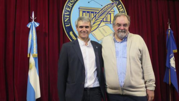 Imagen Noticia: El rector y el vicerrector hicieron un balance de 2020 en Radio Universidad