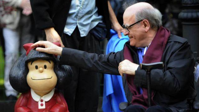 imagen de la noticia: Quino y su creación más popular: Mafalda